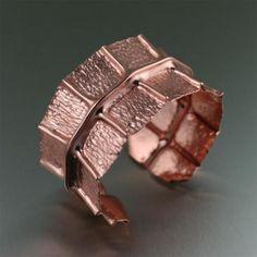 Most Recent Blogpost - (via Patterned Copper Cuff Bracelet)  #Copper #CopperJewelry http://copperjewelry4u.tumblr.com/post/123137741883