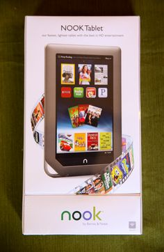 This week you can enter to win a Nook Tablet!