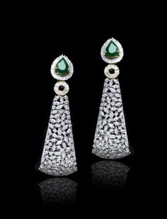 Earrings  ( By: GEHNA JEWELLERS)
