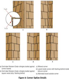 Exterior New Wall Construction   Wall Manual   Cedar Shake and Shingle Bureau