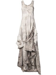 [this, with a fat diamond necklace] INDIA FLINT - wasteland dress 6 India Flint, Dystopian Fashion, Post Apocalyptic Fashion, Day Dresses, Simple Dresses, Frocks, Dress Up, Textiles, Style Inspiration