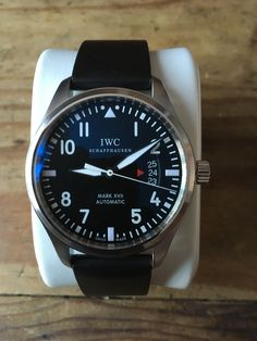 IWC Mark XVII IW326501 Steel watch Iwc, Stainless Steel Watch, Omega Watch, Watches, Pilots, Ebay, Collection, Style, Fashion