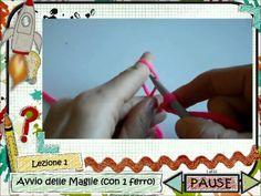 Come avviare un lavoro a maglia - video tutorial, by www.lunadeicreativi.com