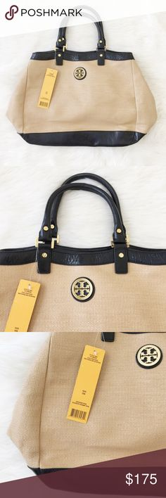 Tory Burch Slouchy Straw Tote Gorgeous and never been worn Tory Burch Slouchy Straw Tote with option for a Crossbody perfect to pair with anything and everything! Reasonable offers always accepted. Bundle more to save more ❤️✨ Tory Burch Bags Crossbody Bags