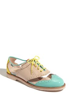 Clear oxfords