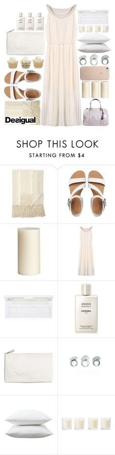 """""""#Razorlight - Golden Touch"""" by credentovideos ❤ liked on Polyvore featuring ALDO, Pier 1 Imports, shu uemura, Chanel, H&M, Fieldcrest, Shabby Chic and Desigual"""