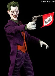 Batman: Joker, Deluxe-Figur (voll beweglich) ... https://spaceart.de/produkte/bm003.php