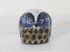 Small Pottery Owl