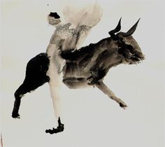 Miquel Barcelo Faena Tinta china 26 x 28,5 cm
