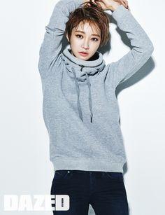 Style Korea: The Art of Korean Fashion • Go Joon Hee  for Dazed & Confused November 2015....