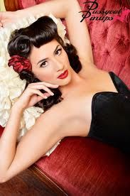 pin-up girl photography