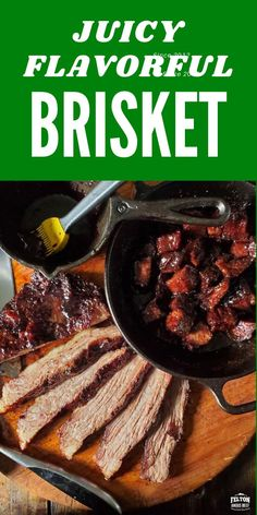Juicy, flavorful Brisket Point is the heavier marbled half of the whole brisket. Perfect for low and slow on grill or in oven and is often made into burnt ends with rich BBQ sauce.#brisket #grill #bbq #burntends #beef Oven Baked Brisket, Grilled Brisket, Slow Cooked Brisket, Sweet And Sour Beef, Beef Skillet Recipe, Easy Mongolian Beef, Burnt Ends, Beef Kabobs, Steak Fajitas