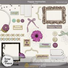Happy day de Designs by Hilde - €5.00 : Boutique ScrapFromFrance