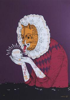 Saner es un artista emergente mexicano, ahora está exponiendo sus obras en la FIFTY24SF (en San Francisco)