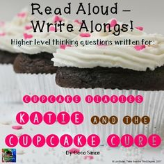 Cupcake Diaries: Katie and the Cupcake Cure Read Aloud Write Along Writing Skills, Writing Activities, Cupcake Diaries, 4th Grade Classroom, Classroom Ideas, Balanced Literacy, Book Study, Common Core Standards, Read Aloud