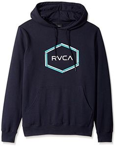 online shopping for RVCA Men's Reflection Box Pullover Fleece Hooded Sweatshirt from top store. See new offer for RVCA Men's Reflection Box Pullover Fleece Hooded Sweatshirt Sweatshirts Online, Hooded Sweatshirts, Crew Neck Sweatshirt, Pullover, Flannel Jacket, Mens Clothing Styles, Black Hoodie, Fashion Hoodies, Reflection