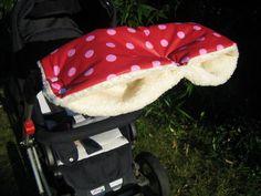 Kinderwagenmuff wasserabweisend  von Isalou auf DaWanda.com