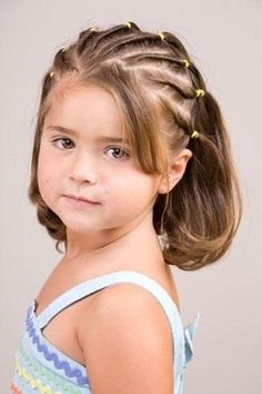 Прически для девочек: 55 фото модных детских причесок на длинные волосы