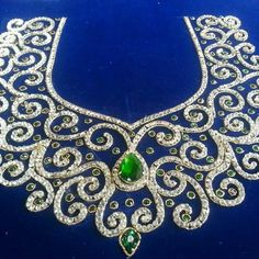 in love drawings Embroidery Neck Designs, Tambour Embroidery, Hand Work Embroidery, Saree Blouse Neck Designs, Bridal Blouse Designs, Bordados Tambour, Traditional Blouse Designs, Hand Work Blouse Design, Maggam Work Designs