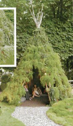 Garden teepee