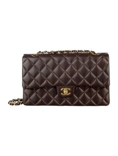 Chanel Classic 2.55 Jumbo Double Flap Brown