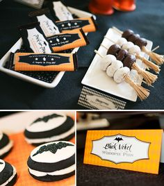 Cute Halloween party food