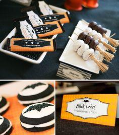Cute Halloween party food