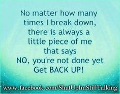 Ovarian Cancer Awareness ~ No matter how many times I break down ...