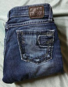 BKE Womens Madison Bootcut Denim Jeans Sz 26/35.5 WOW #Buckle #BootCut