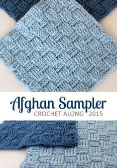 Square 2, Crochet Along Afghan Sampler