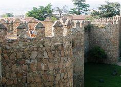 Àvila i les seves muralles.
