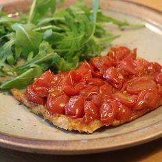 Taartje van tomaat uit Puur Eten 2 | Niet meteen onze PN-favoriet beetje saai... #food