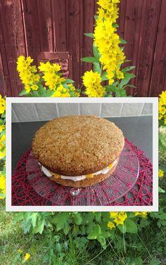Äntligen har jag fått baka den här tårtan. Vilken tur jag har som fått receptet av en som tittar in på min blogg. Bilden på tårtan hade jag ...
