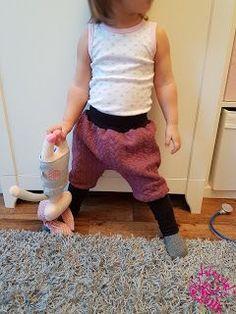 Freebook Knotterbuchse - Knickerbockerhose/ Hose mit langen Bündchen 62 - 104 für Babys und Kinder nähen