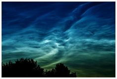 Sky watchers across northern Europe are reporting a vivid display of noctilucent clouds on July 31st. Nické Eriksson sends this sunset image from Karlstad, Sweden.