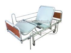 Hasta Karyolası piyasasında Elektrikli Hasta Yatağı, Lazımlıklı Hasta Yatakları gibi ürünlerin imalatı, satışı, fiyatları ve Hasta Yatakları Kiralama hizmetleri