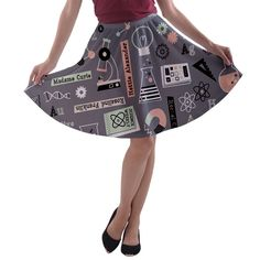 Queen of the Science Fair Skirt  - Coupon Code: SALE35OFF to save 35% ah this skirt is so cute!  It's like modcloth but cheaper!