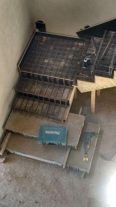 Escada Cascata com 2 primeiros degraus maiores, executada em Sorocaba/SP no condomínio Campos do Conde. Contato: 11 973951354 V...