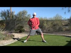 How To Increase Golf Swing Speed - Hip Rotation Stretch Tip - http://www.thehowto.info/how-to-increase-golf-swing-speed-hip-rotation-stretch-tip/