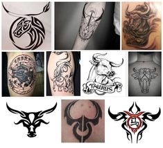 15 Best Taurus Tattoo Designs For Men And Women