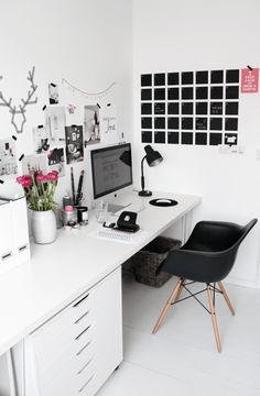 Home office pink_sty