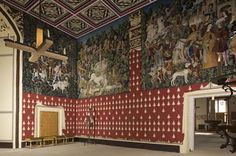 Stirling Castle interior , Scotland , England .