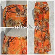 #psychedelic flower bottoms -colortype: Orange-  #fashion #naturaleeza #NaRL #kohchang #onlinestore