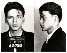 Frank Sinatra Mugshot Arrest Photo Bergen County New by GalleryLF
