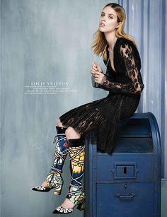☆ Julia Frauche | Photography by Jens Langkjaer | For Harper's Bazaar Magazine Singapore | November 2014 ☆ #Julia_Frauche #Jens_Langkjaer #Harpers_Bazaar #2014
