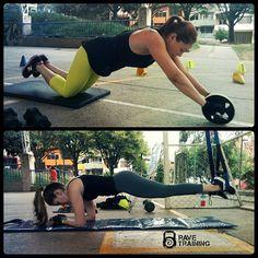 Siempre parece imposible hasta que se hace. #TrainingTime #LessExcusesMoreSweat #HealthyLifeStyle @ravetraining