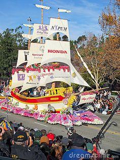 Honda's Ship of Dreams Parade Float by Groovychick69, via Dreamstime