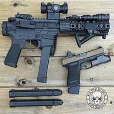 Glock fed SBR AR15 and custom glock19...just need both modified to accept the…