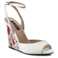 Sandály SCA'VIOLA - W3223L-60 White Shoe Boots, Wedges, Heels, Fashion, Heel, Moda, Fashion Styles, High Heel, Fashion Illustrations