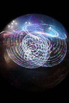 Moodhoops Spectrum LED Hula Hoop    sefangel:    Taken last night at DJ S3rl.I <3 my Spectrum Hoop Led Hula Hoop, Led Hoops, Flow Arts, Screamo, Types Of Music, Dubstep, Trance, Techno, Spectrum